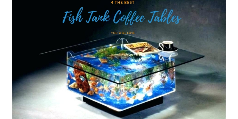 Review 4 Best Fish Tank Coffee Tables